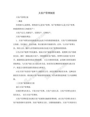 大客户管理制度.doc