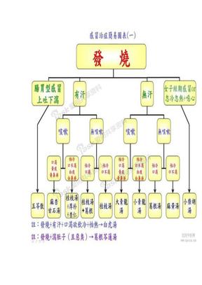 感冒经方治疗简表.doc