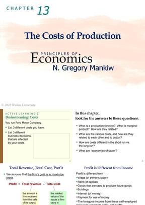 曼昆《经济学原理》英文课件princ-ch13-presentation(2010)(1).ppt