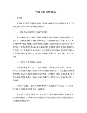 青蓝工程师傅总结.doc