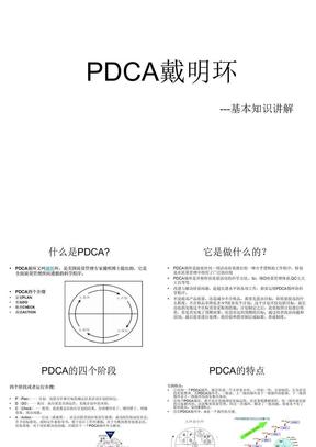 PDCA循环管理.ppt