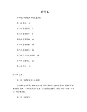 深圳经济特区慈善事业促进条例.doc