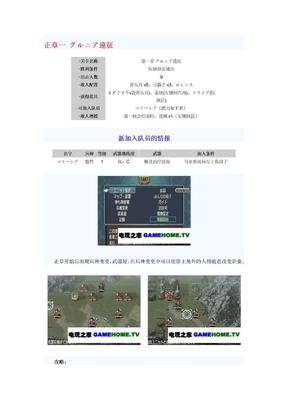 新纹章之谜(图文攻略).doc