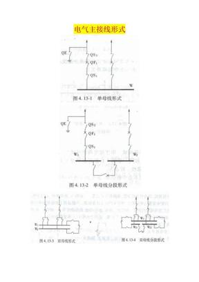 电气主接线母线配置.doc