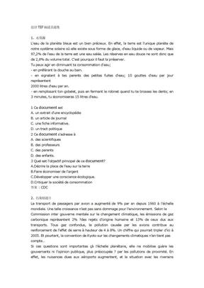法语TEF阅读真题集.doc