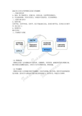 2014苏大艺术史考研模拟五套卷与答案解析.docx