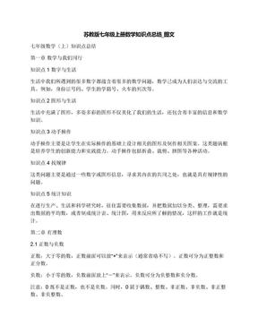 苏教版七年级上册数学知识点总结_图文.docx