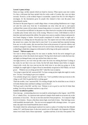 新概念英语全四册WORD文档文本背诵版 很准确文本3.doc