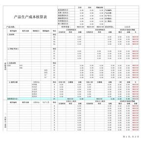产品生产成本核算表.xls