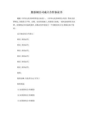 股份制合同协议书.doc