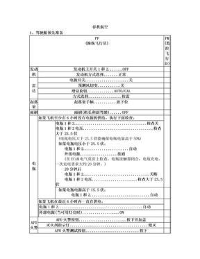 飞机飞行标准操作SOP.doc