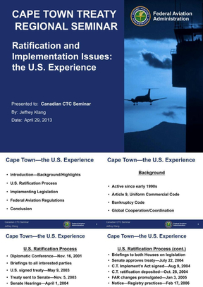 the U.S. Experience.ppt