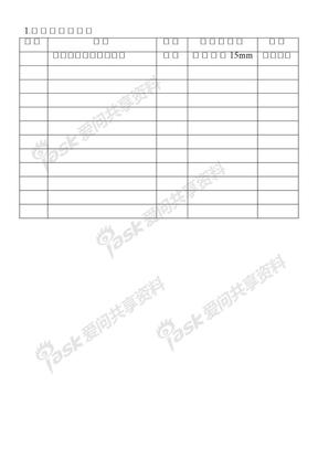 办公室管理表格第12章  印章管理表格1.印章样式规定表.doc