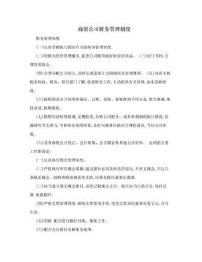 商贸公司财务管理制度.doc