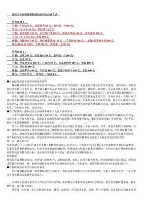 妊娠期糖尿病的经典食谱.doc