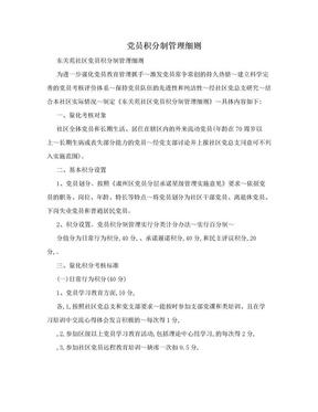 党员积分制管理细则.doc