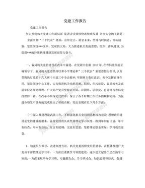 党建工作报告.doc