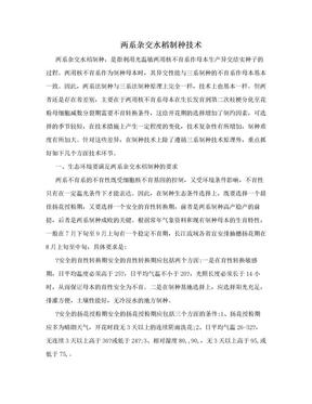 两系杂交水稻制种技术.doc