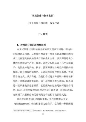 视觉快感与叙事电影.pdf