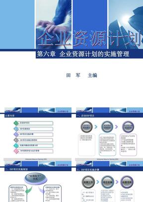 第6章 企业资源计划的实施管理.ppt