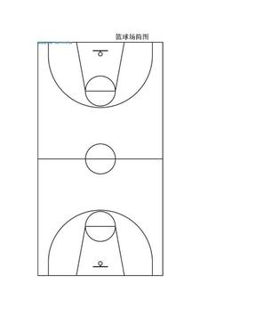 篮球场简图.doc