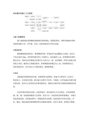 钻孔灌注桩施工工艺流程.doc