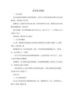 会计实习内容.doc