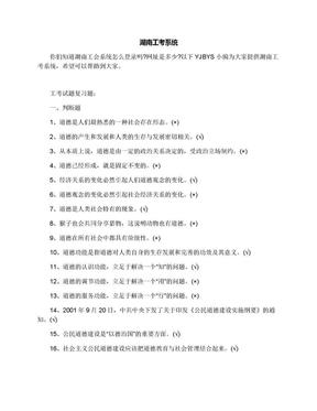 湖南工考系统.docx