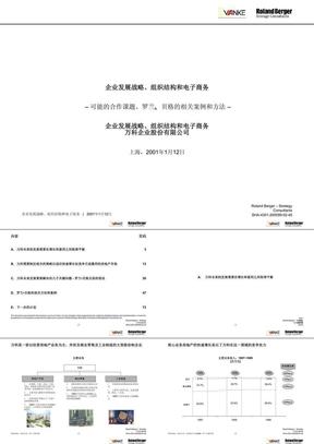 罗兰伯格〈万科地产企业发展战略、组织结构和电子商务〉(79页).ppt