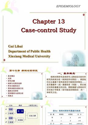 Chapter 13 病例对照研究.ppt