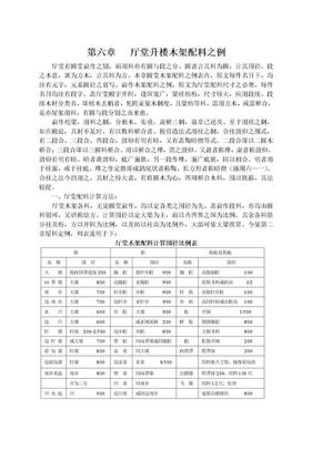 07营造法原(第六章_厅堂升楼木架配料之例DOC版).doc