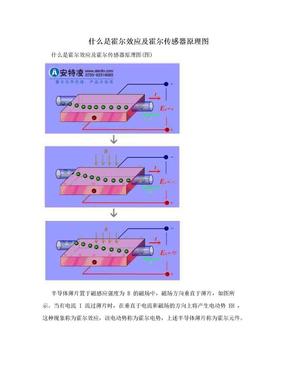什么是霍尔效应及霍尔传感器原理图.doc