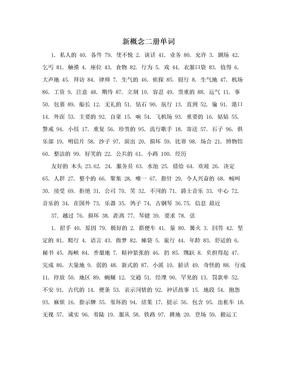 新概念二册单词.doc