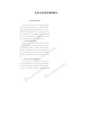 企业文化建设调研报告.doc