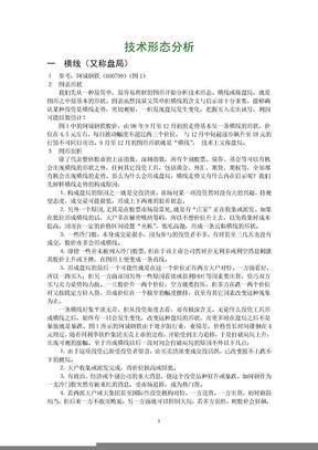 技术形态分析(必读).doc