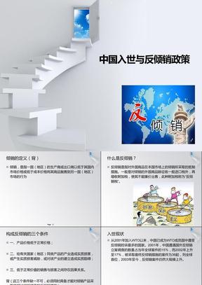 中国入世与反倾销政策.ppt