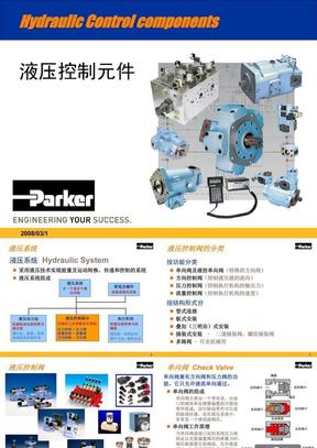 派克液压控制元件培训资料(中文)[1].ppt
