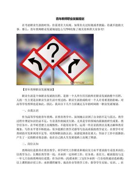 青年教师职业发展规划.docx