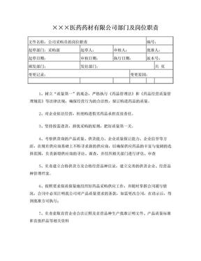 医药批发企业采购员岗位职责.doc