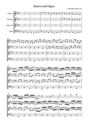 卡农小提琴乐谱(合奏).pdf
