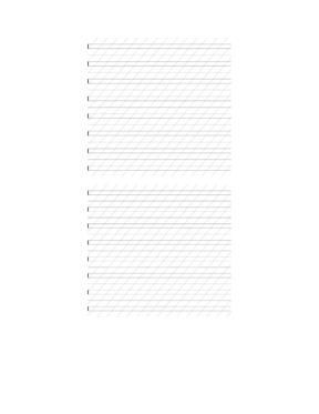 英文字体字帖练习纸,多种规格(圆体英文,意大利斜体,花体练习纸).doc