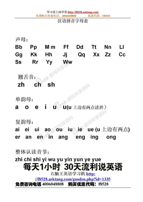 汉语拼音字母表.doc