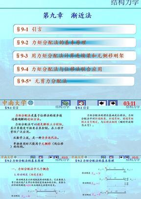 9渐近法(李廉锟_结构力学).ppt