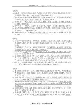 2010中考化学必备.doc