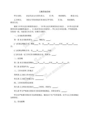 上海劳动合同.docx