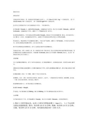 糖尿病常用药.doc