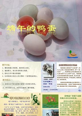 八年级语文下册《端午的鸭蛋》优秀课件(28页) 人教新课标版.ppt