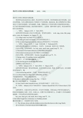 英语学习中的六种基本句型结构.doc