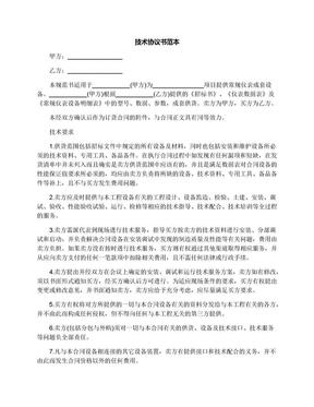 技术协议书范本.docx