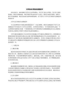 大学生会计职业生涯规划书.docx